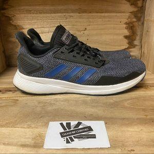 Adidas duramo 9 black blue fashion sneakers shoes